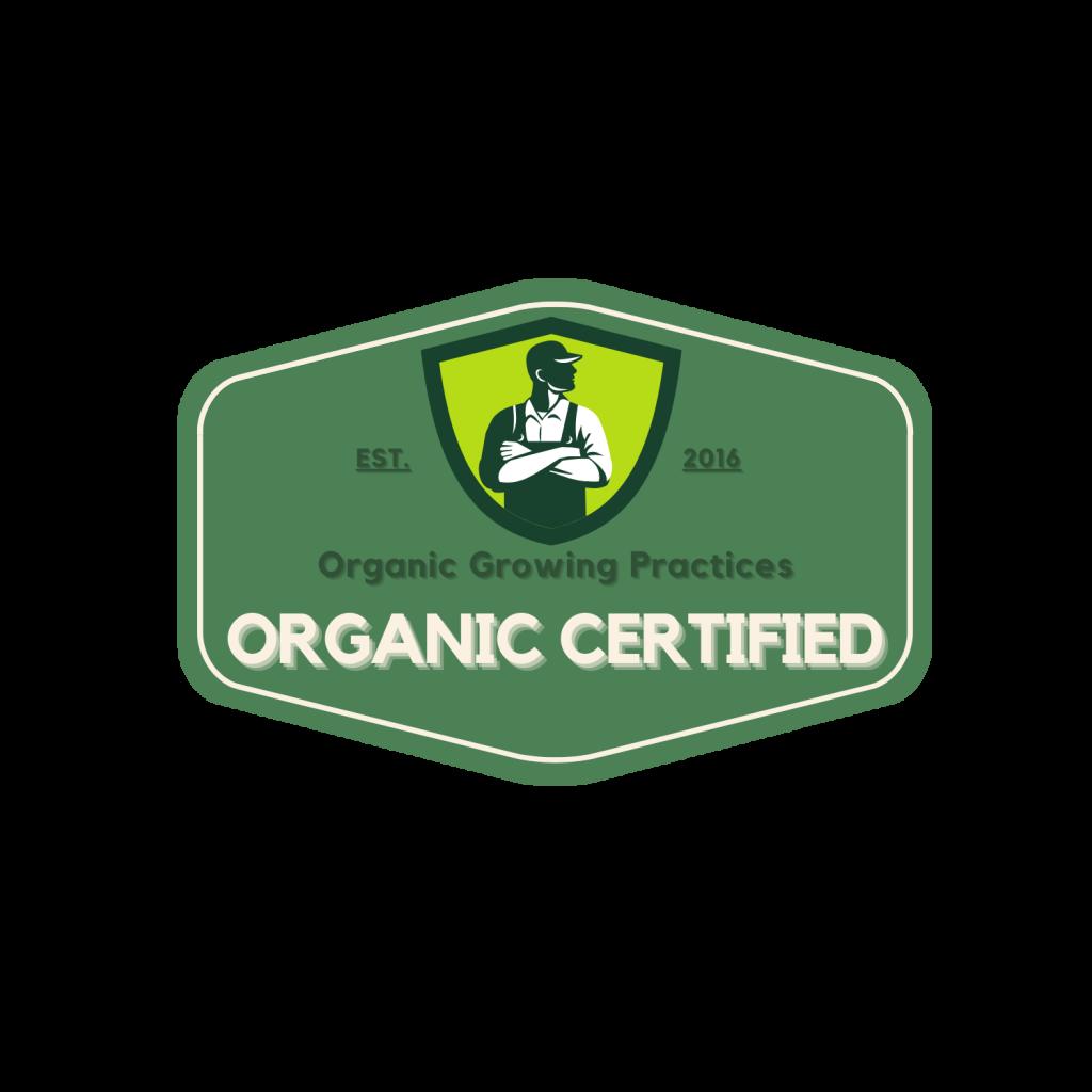 Origin 1 CBD is Organic Certified